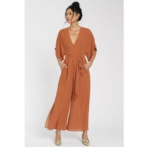 Anthropologie dRA Catania Jumpsuit Small